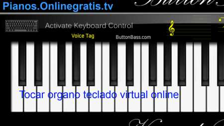 organo teclado virtual